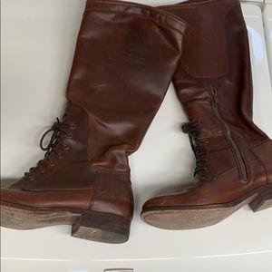 Frye Reddish Brown Boot